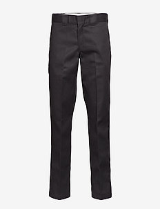 SLIM STRAIGHT WORK PANT - chinos - black