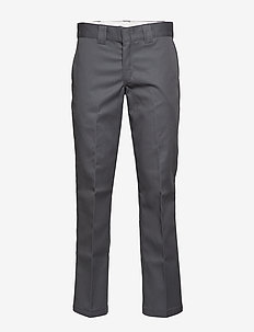 S/STGHT WORK PANT - chinos - charcoal grey