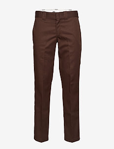 S/STGHT WORK PANT - chinos - chocolate brown