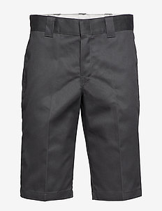 Slim 13 inch Short - tailored shorts - charcoal grey