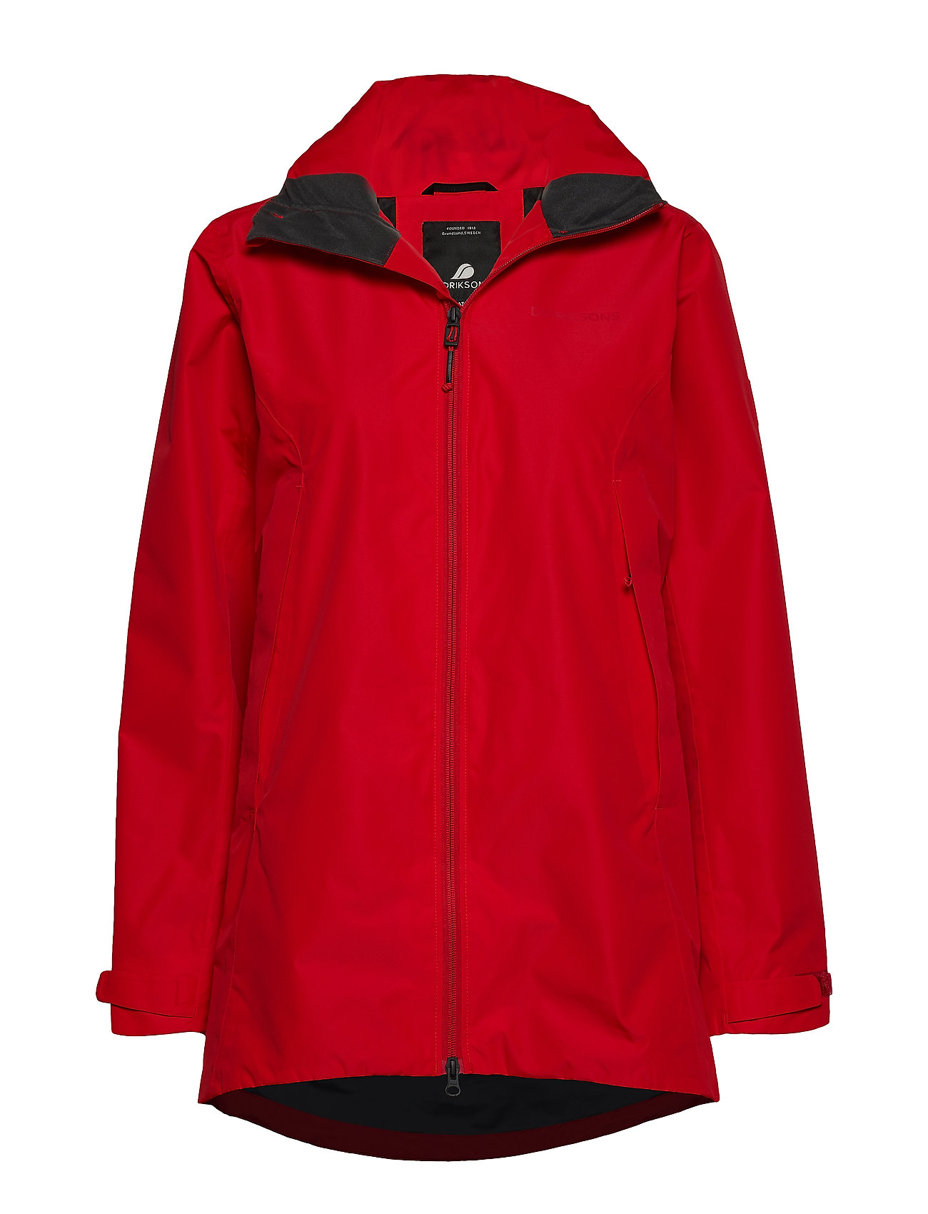 Didriksons NOOR WNS PARKA - CHILI RED