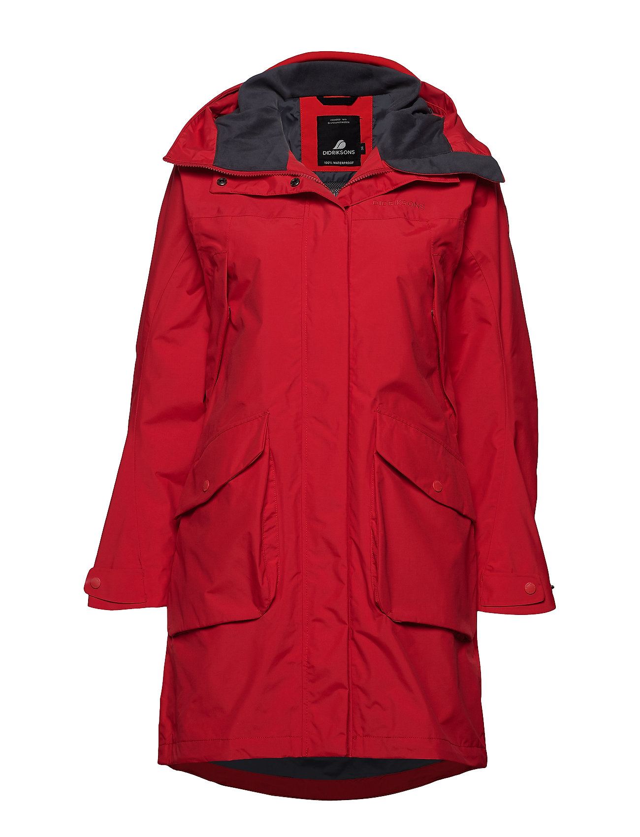 Didriksons THELMA WNS PARKA 2 - CHILI RED