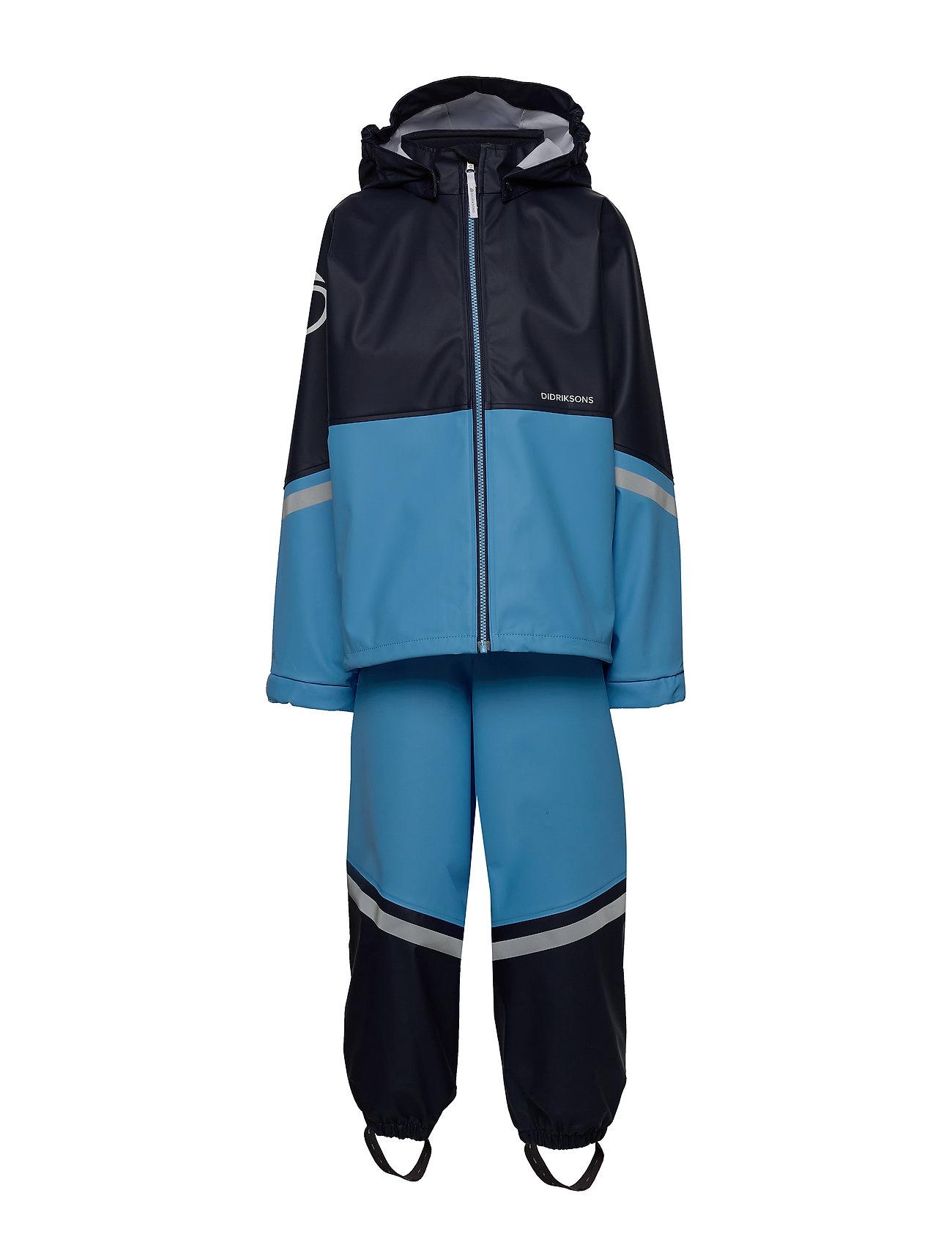 Didriksons WATERMAN KIDS SET 4 - BREEZE BLUE