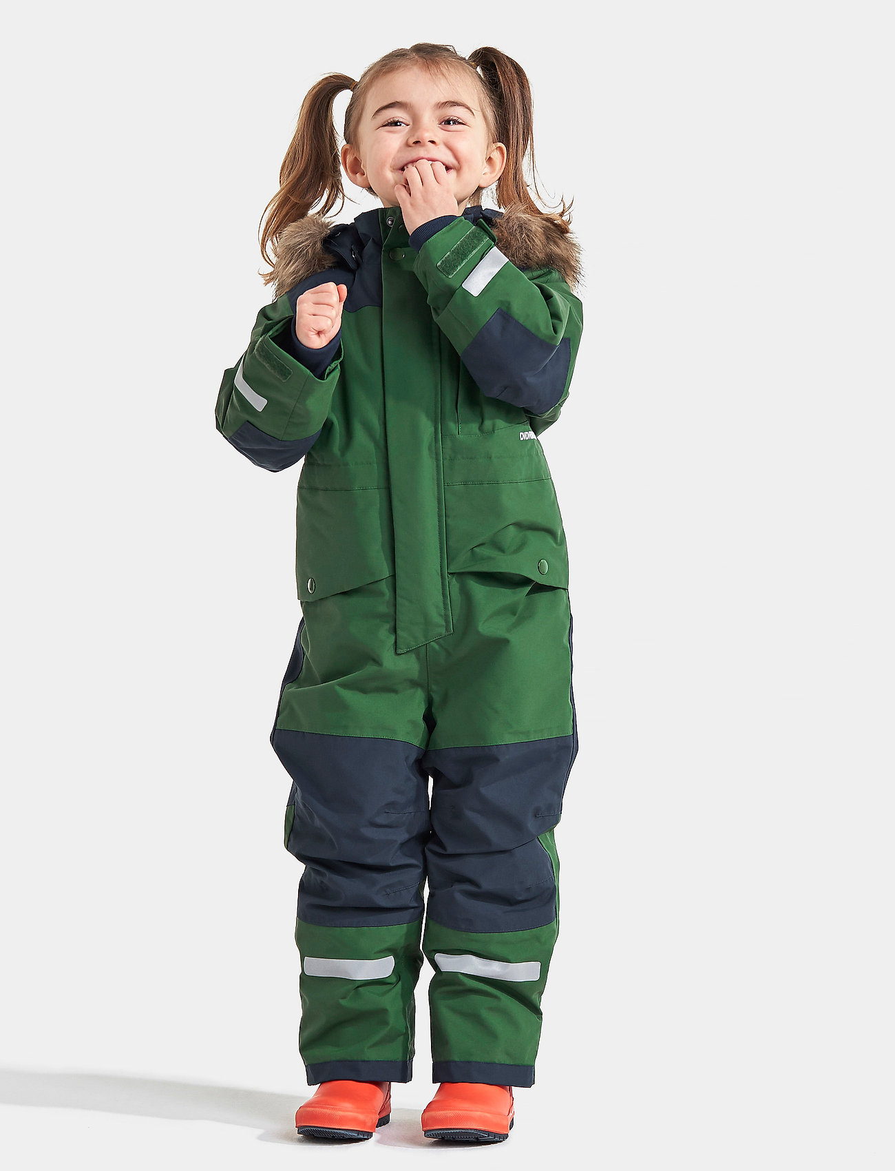 Didriksons - BJÖRNEN KIDS COVER 4 - snowsuit - leaf green - 0