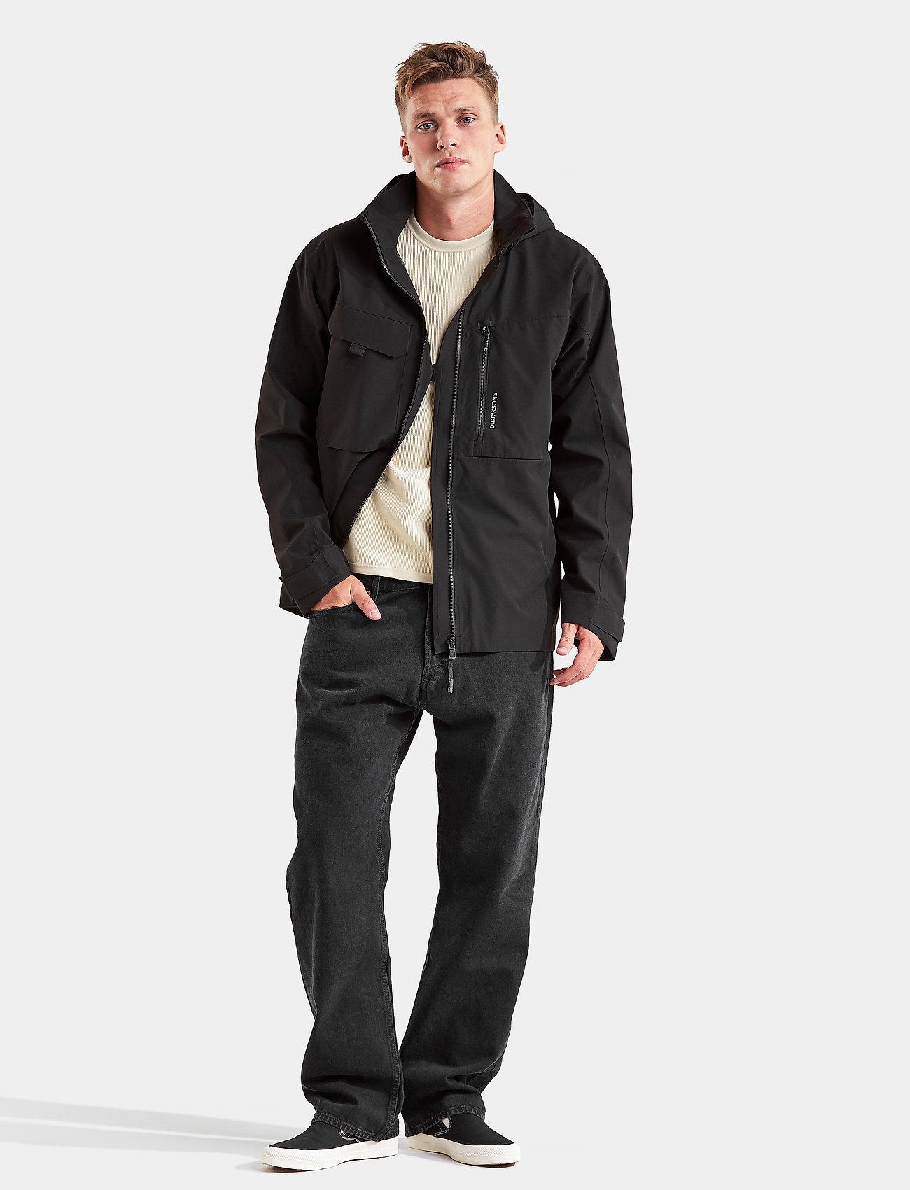 Didriksons - ASTON USX JKT 2 - vestes légères - black - 0
