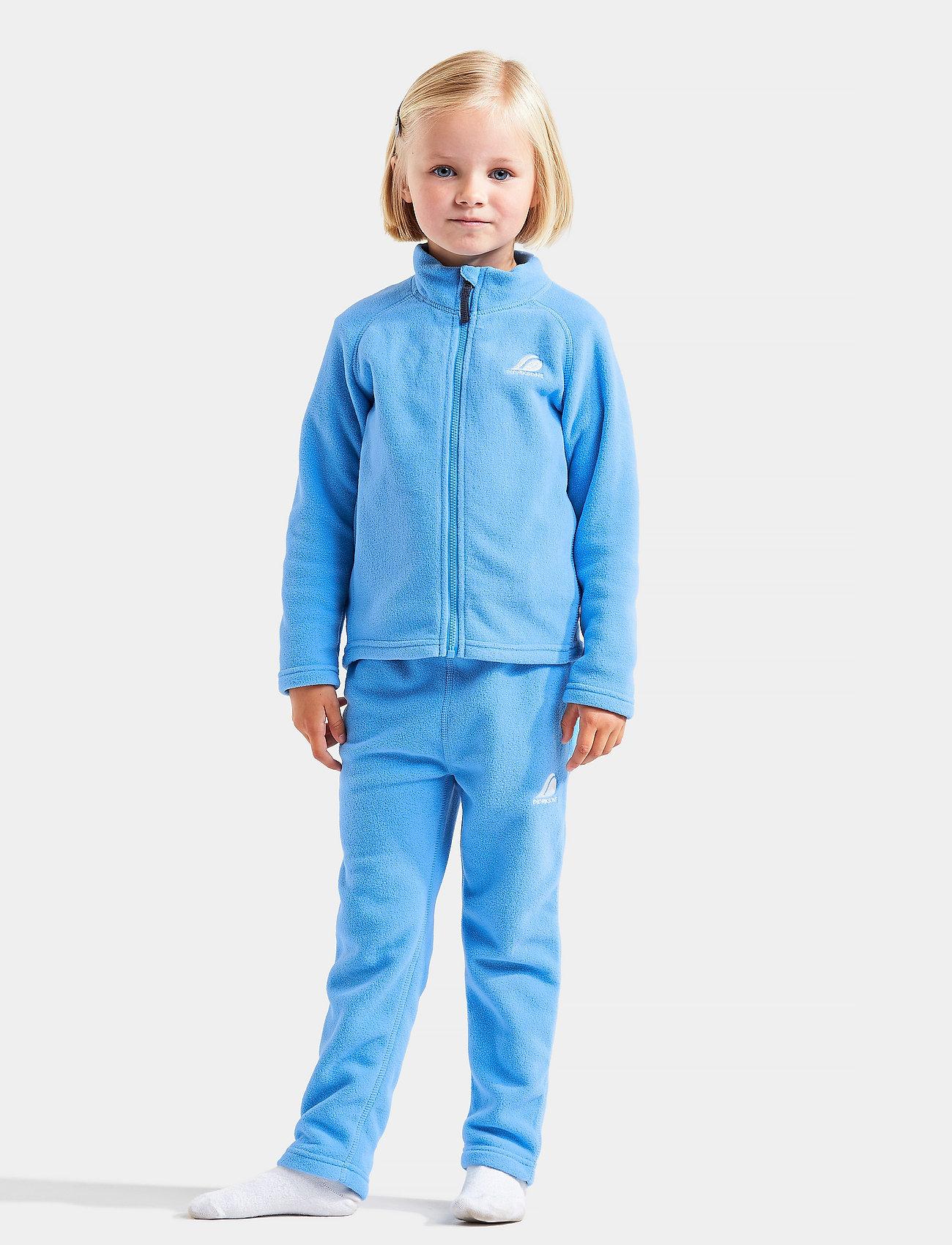 Didriksons - MONTE KIDS JKT 5 - isolerede jakker - breeze blue - 0