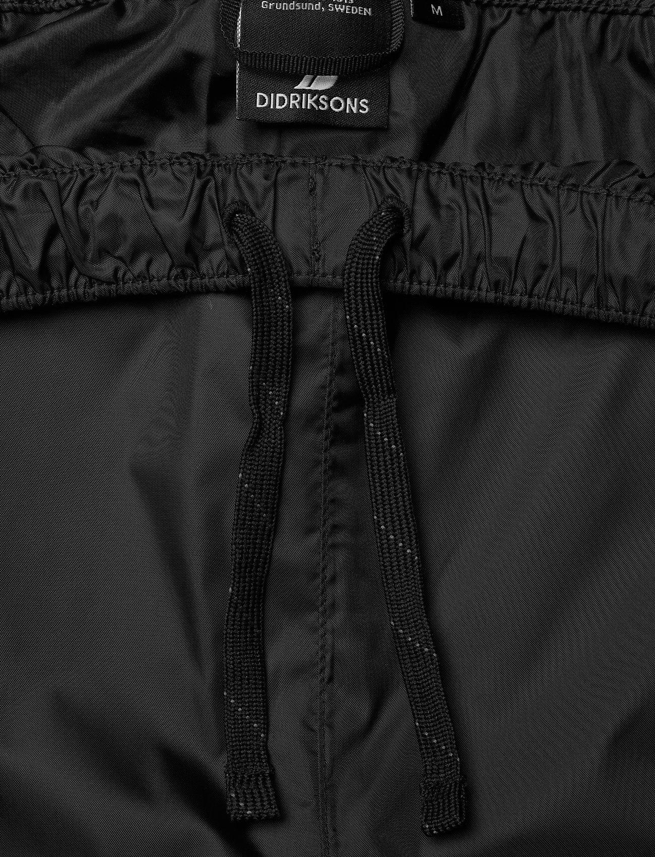 Didriksons - AMUR USX SET - manteaux de pluie - black - 8