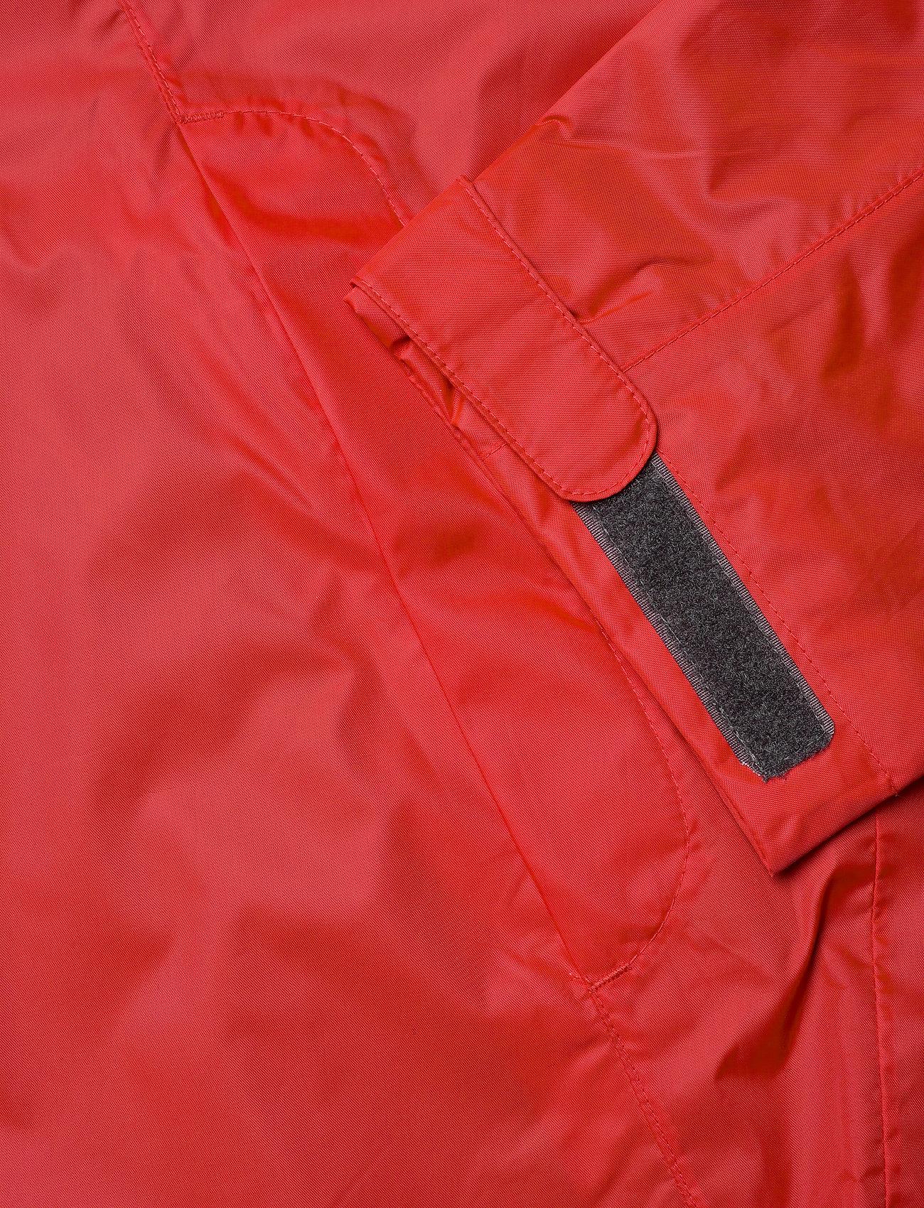 Didriksons - AMUR USX SET - manteaux de pluie - lava red - 6