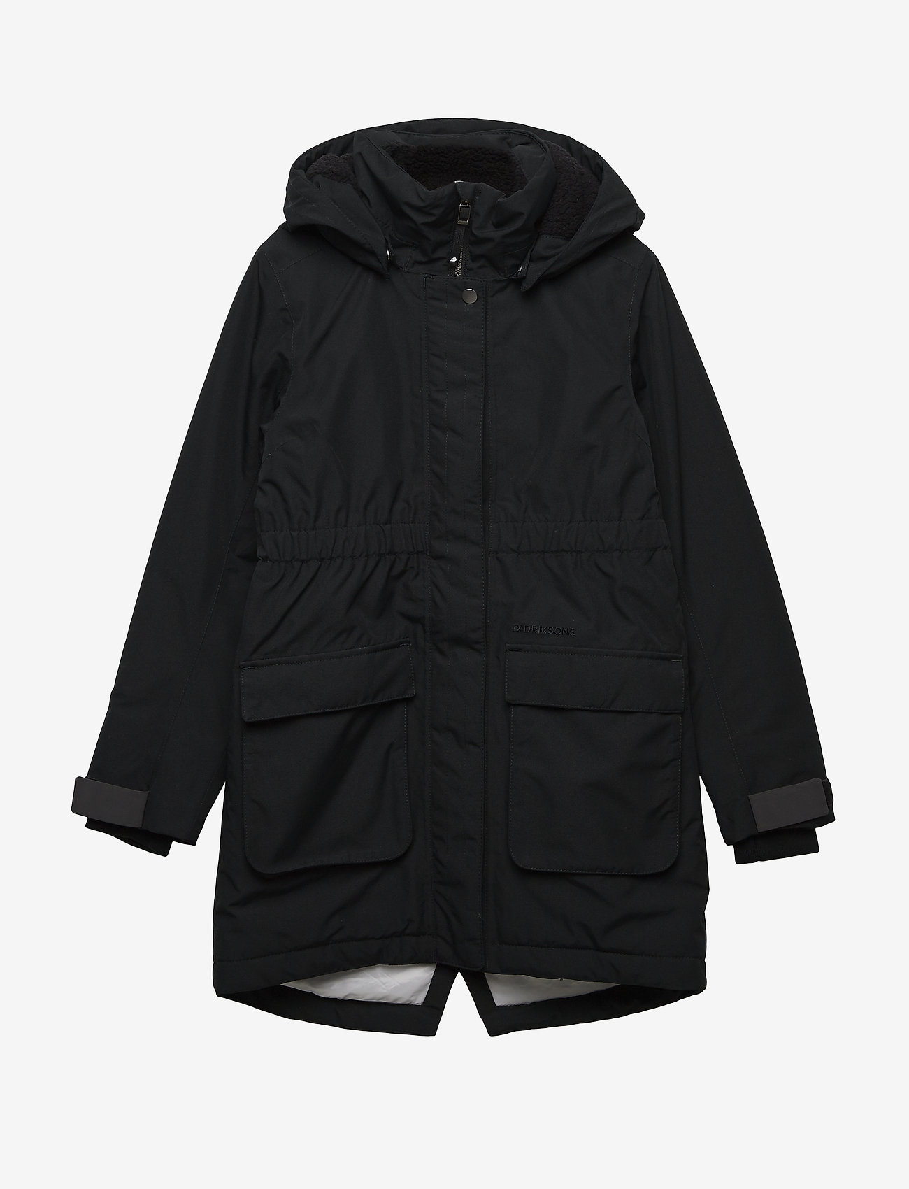 Didriksons - RONNE GS YT PARKA - puffer & padded - black