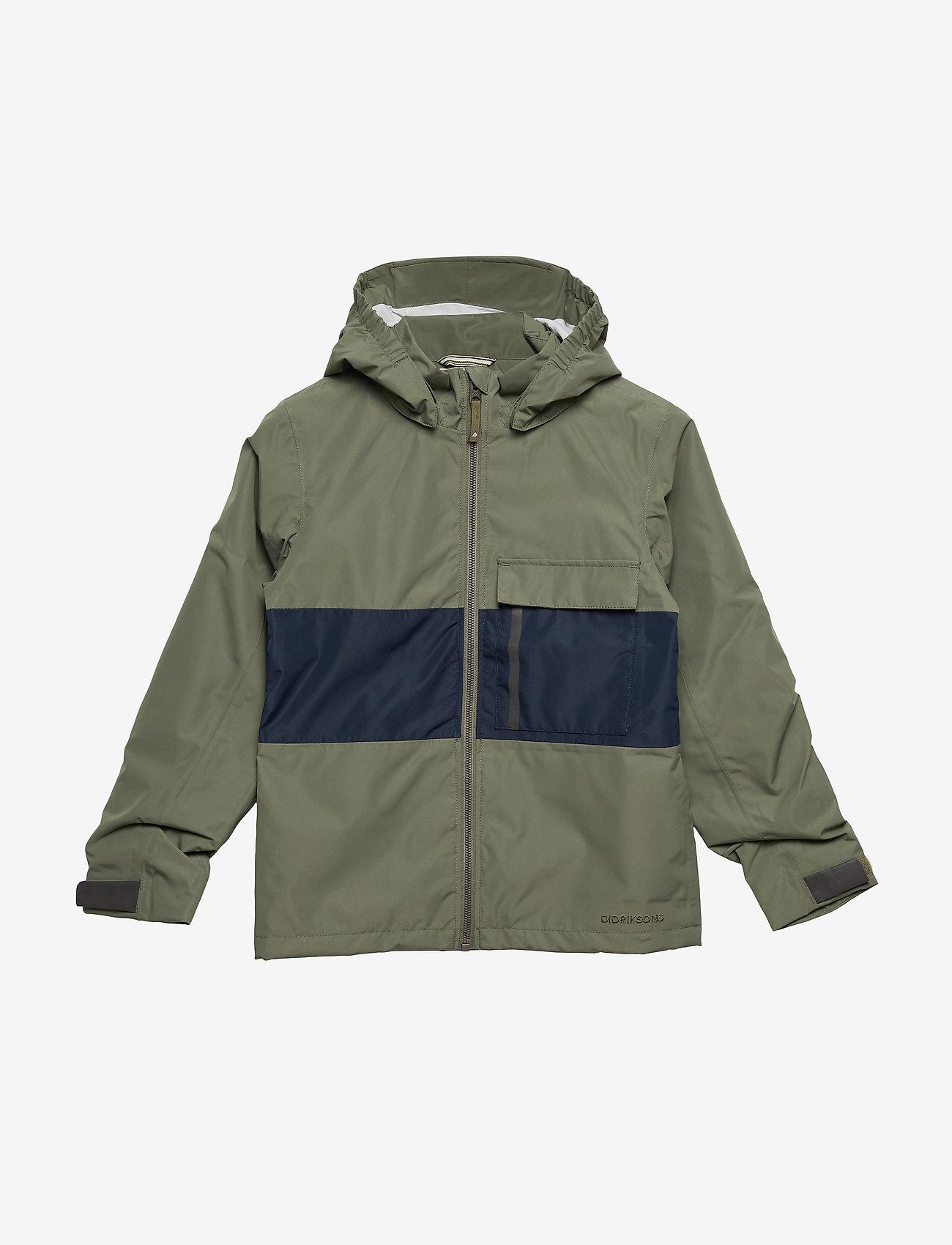 Didriksons - IGELKOTTEN KIDS JKT - shell jacket - dusty olive - 0