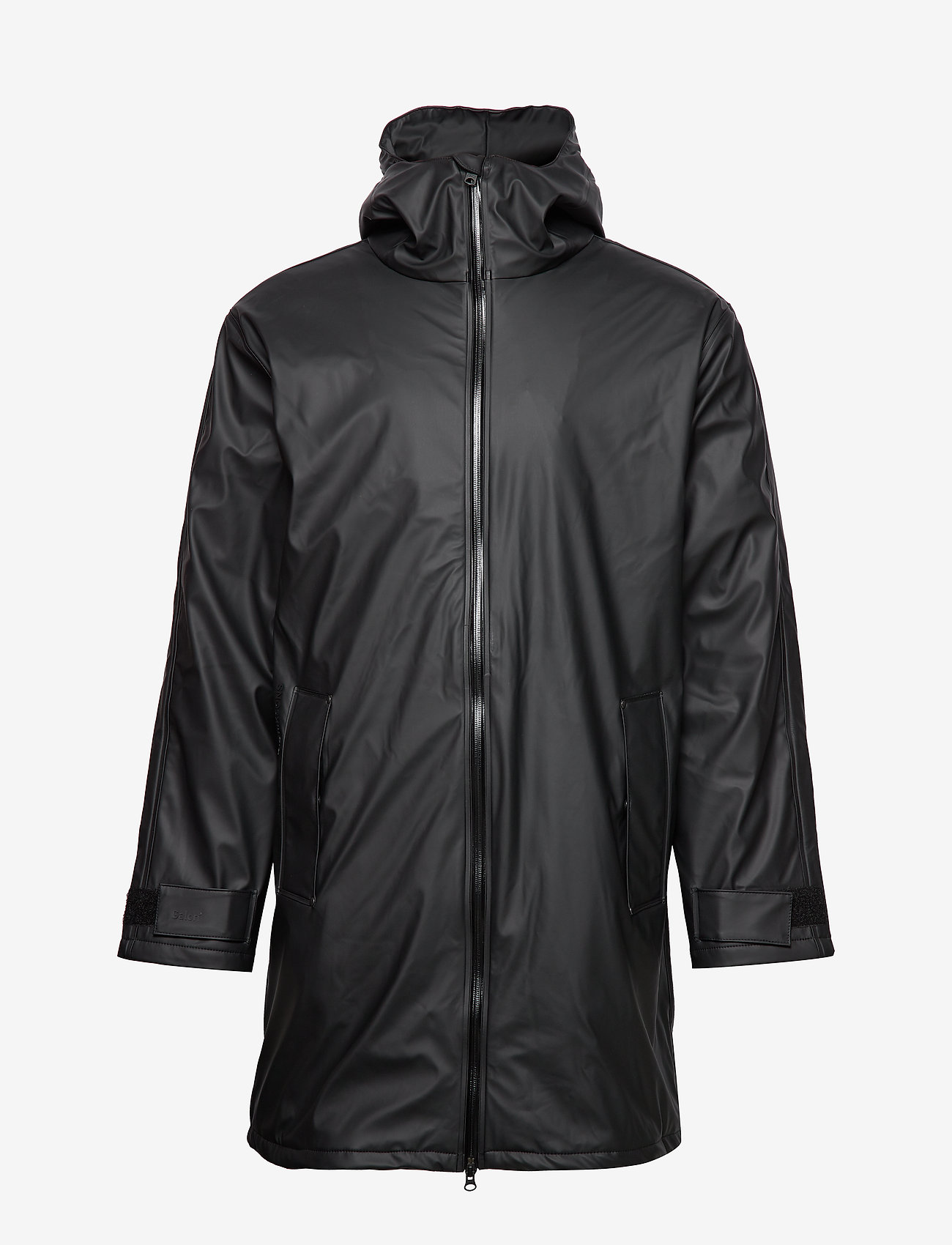 Didriksons - ICELAND USX PARKA 2 - rainwear - black - 1
