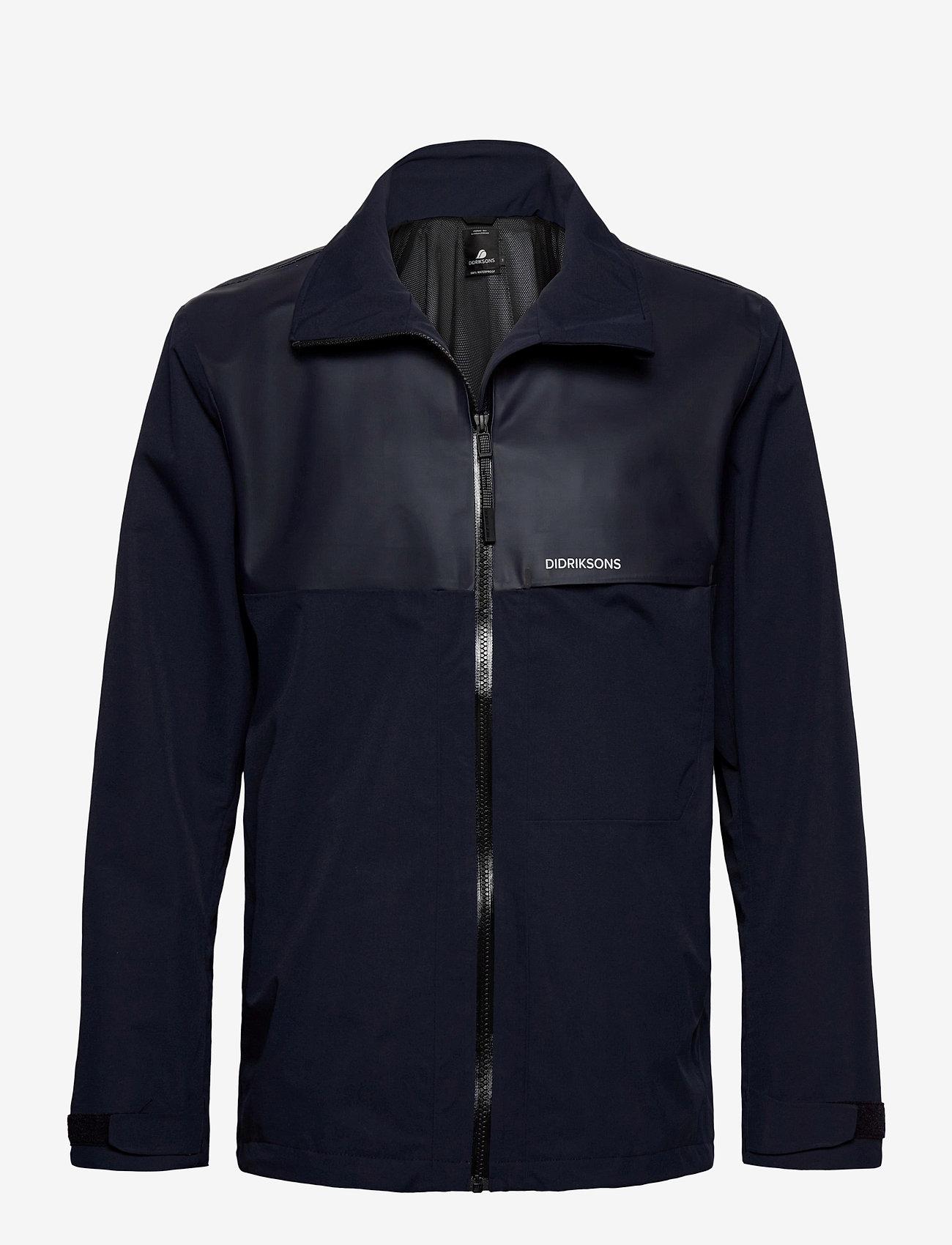Didriksons - OLIVER USX JKT - manteaux de pluie - dark night blue - 0