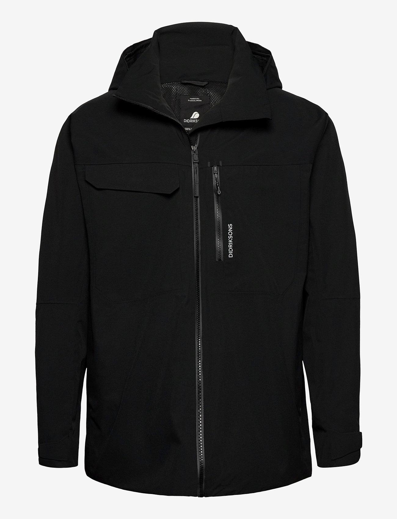 Didriksons - ASTON USX JKT - manteaux de pluie - black - 0