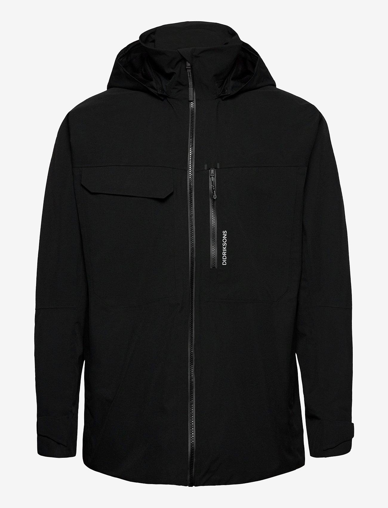 Didriksons - ASTON USX JKT - manteaux de pluie - black - 1