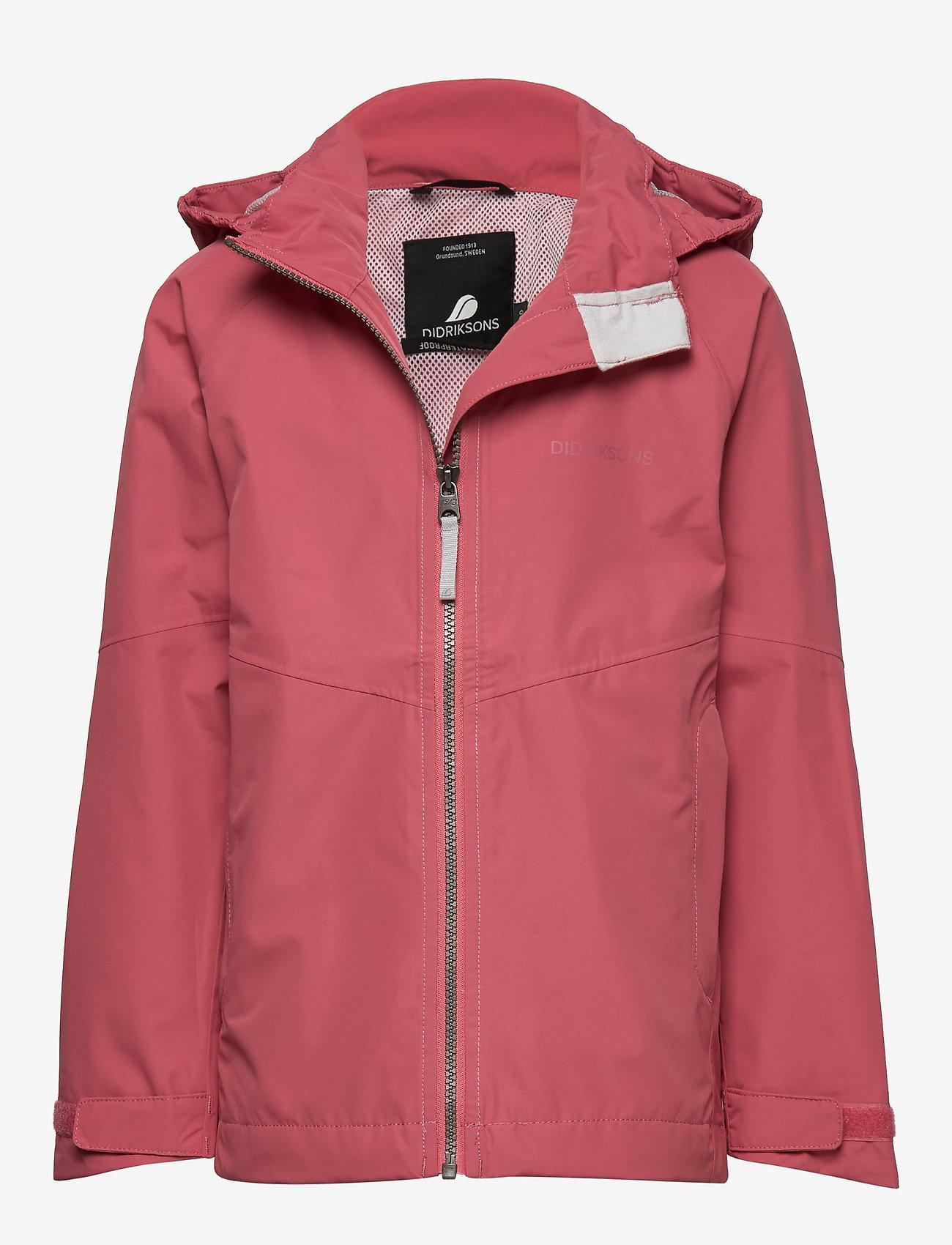 Didriksons - TERA GIRLS JKT 3 - shell jacket - pink blush - 1
