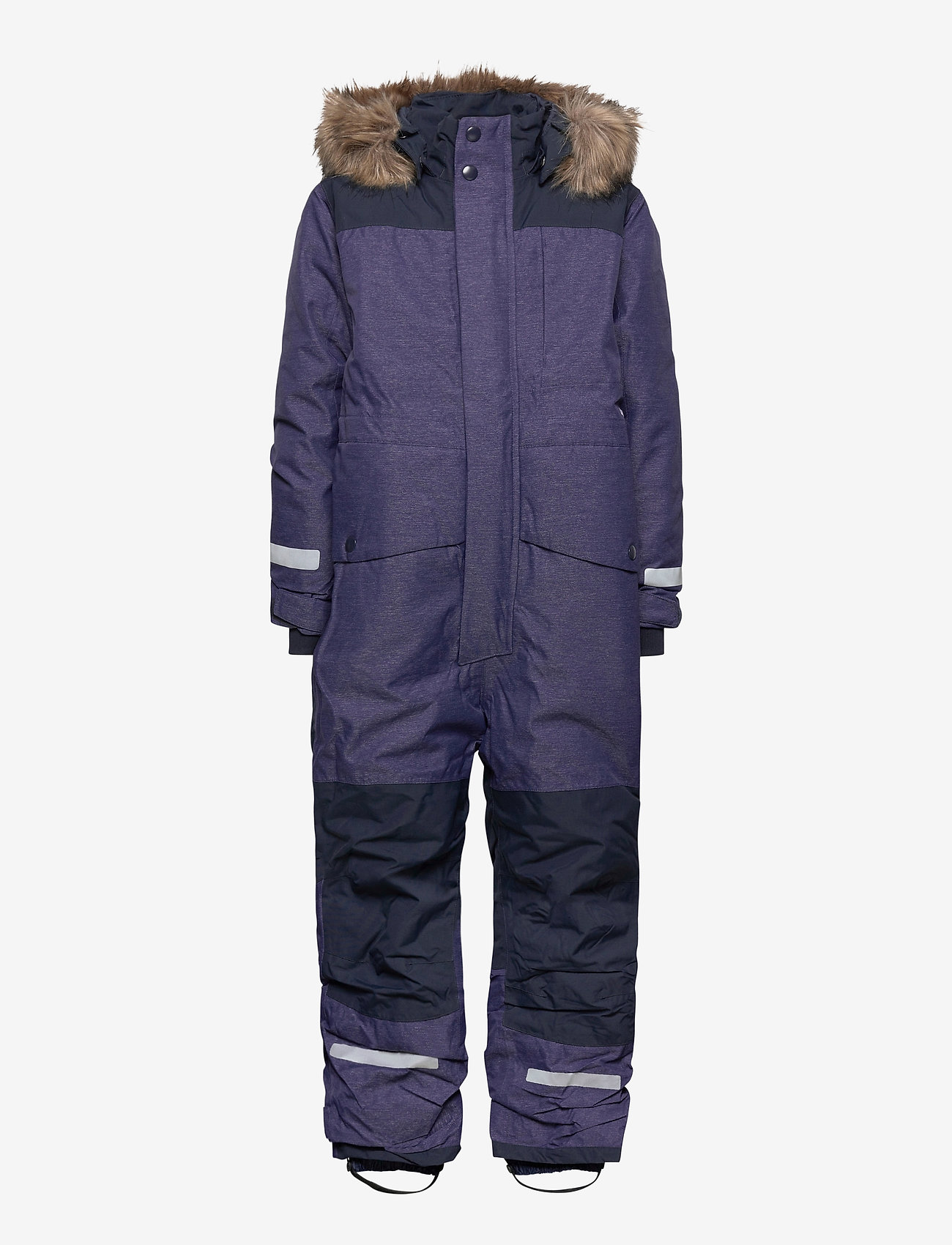 Didriksons - POLARBJÖRNEN KIDS CO - snowsuit - denim blue - 0