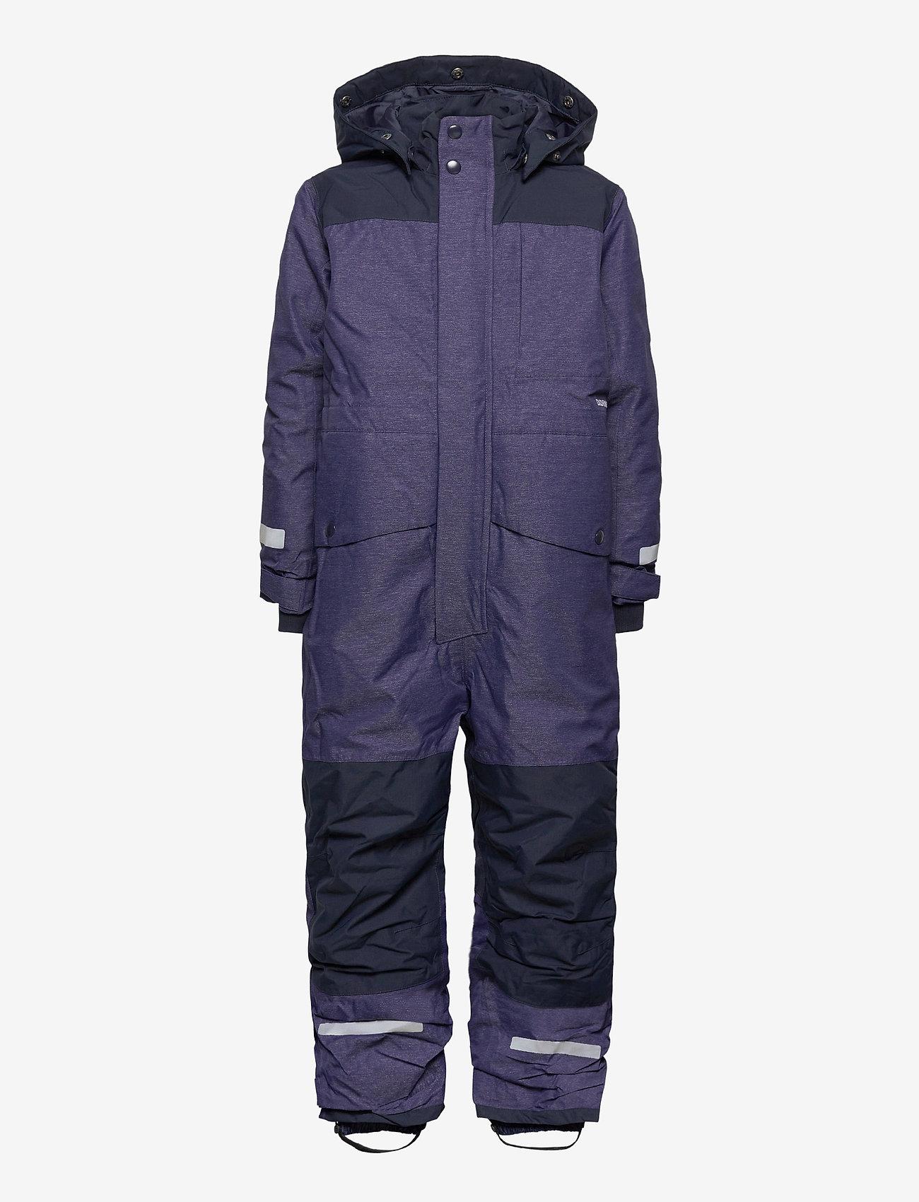 Didriksons - POLARBJÖRNEN KIDS CO - snowsuit - denim blue - 1