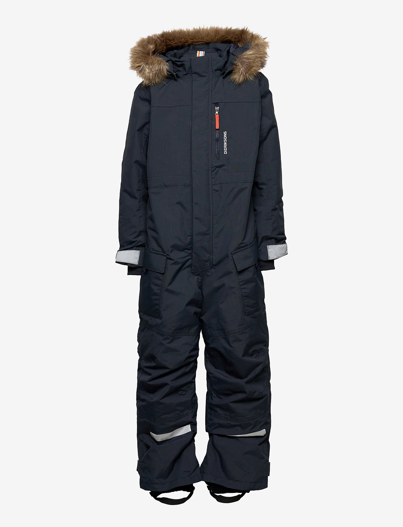Didriksons - POLARBJÖRNEN COVERALL - shell coveralls - navy - 1