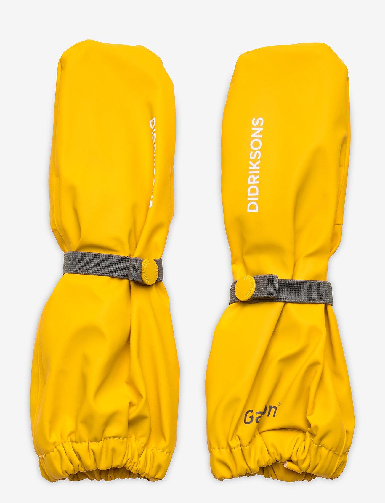 Didriksons - PILEGLOVE KIDS 4 - handschuhe - mellow yellow - 0