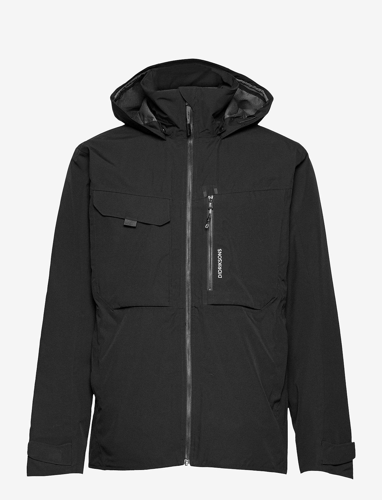 Didriksons - ASTON USX JKT 2 - vestes légères - black - 1