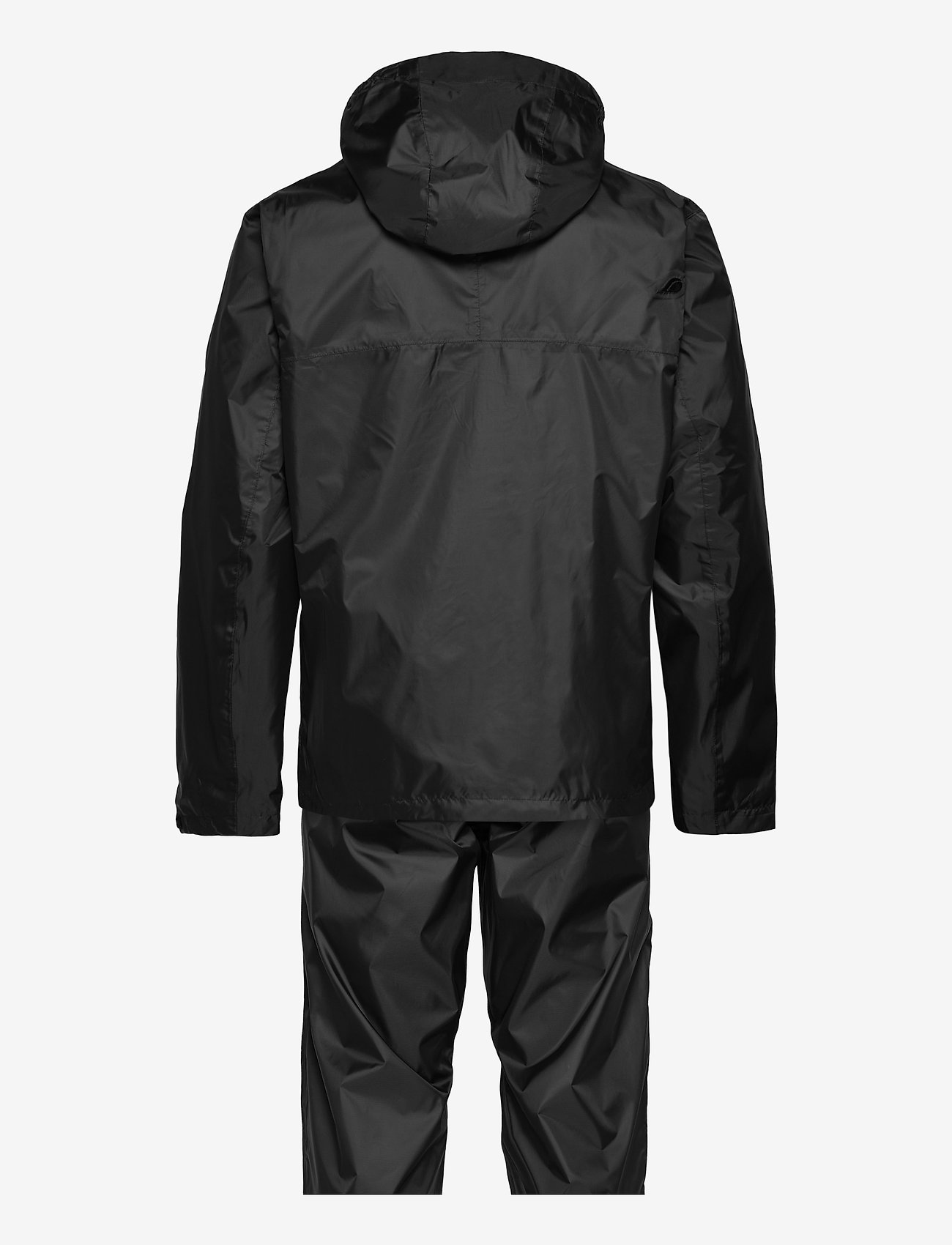 Didriksons - AMUR USX SET - manteaux de pluie - black - 1