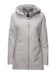 NELLY WNS PARKA - ALUMINUM