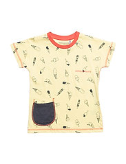 PLAYA KIDS T-SHIRT - CITRON ICE