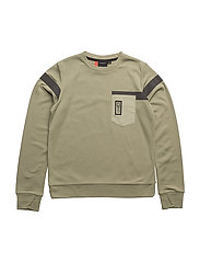 TOKYO BS SWEATER - OLIVE