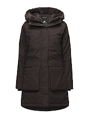 DAGNY WNS PARKA - CHOCOLATE BROWN