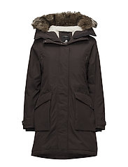 MALOU WNS PARKA - CHOCOLATE BROWN