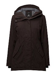 MARIE WNS PARKA - CHOCOLATE BROWN