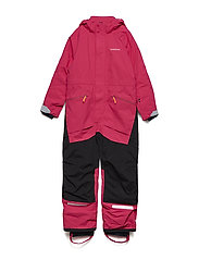 LYNGE KIDS COVERALL - WARM CERISE