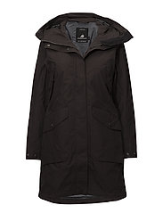 AGNES WNS COAT 2 - CHOCOLATE BROWN