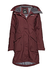 THELMA WNS PARKA 2 - WINE RED