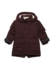 RONNE KIDS G PARKA - OLD RUST