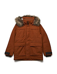 NORDEN BS YT PARKA - LEATHER BROWN