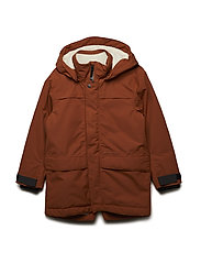 BJÖRLING BS YT PARKA - LEATHER BROWN