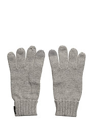 HEDEN GLOVES - GREY MELANGE