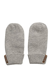 KIT KIDS MITTENS - GREY MELANGE