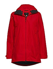 NOOR WNS PARKA - CHILI RED
