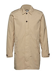 REX USX COAT - BEIGE SMOKE