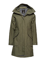 AGNES WNS COAT 2 - DUSTY OLIVE