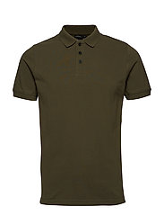 WILLY USX POLO - DUSTY OLIVE