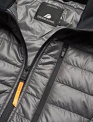 Didriksons - CAMPO USX JKT 3 - vestes matelassées - coal black - 4