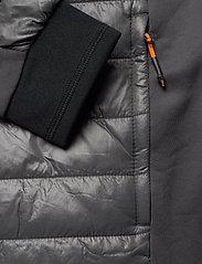 Didriksons - CAMPO USX JKT 3 - vestes matelassées - coal black - 5