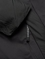 Didriksons - EVAN USX PARKA - parkas - black - 5