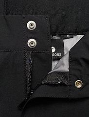 Didriksons - BANAK USX PANTS 2 - outdoorbukser - black - 4