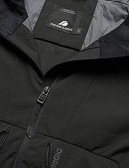 Didriksons - BENGT USX JKT 2 - manteaux de pluie - black - 4