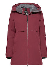HELLE WNS PARKA 2 - ANEMON RED