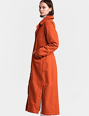 Didriksons - HANNA WNS COAT - trenchcoats - ember red - 6